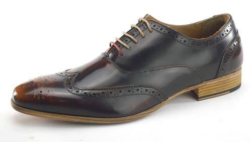 Frank James Norbury Brown Shoes